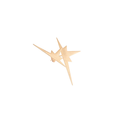 K Double Star Ear Jacket (Single)