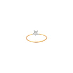 Wonder Woman Star Ring - White Diamond