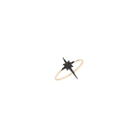 K Star Small Size Ring