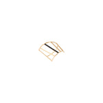 Spectrum Bar Ring - Black Diamond