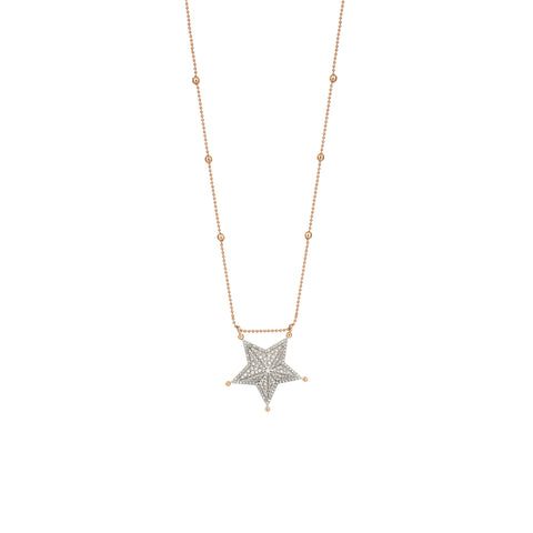 Sheriff Star Necklace