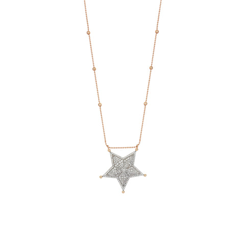 Sheriff Star Necklace- Size 4