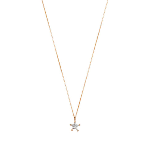Mini Sheriff Star Necklace