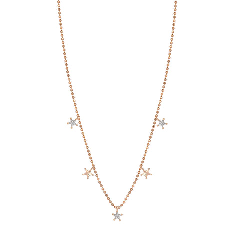Sheriff 5 Star Necklace