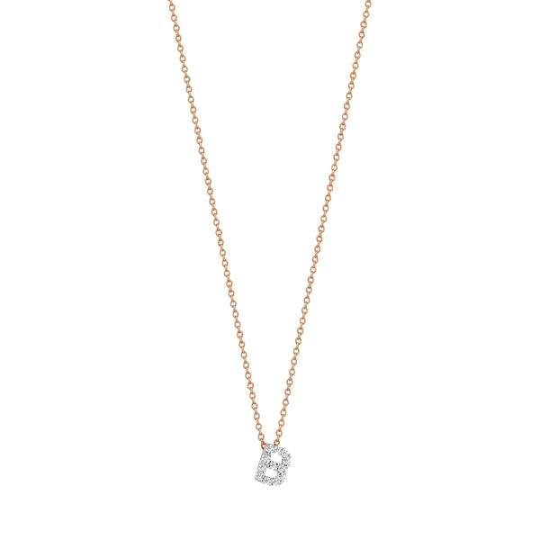 B Cubic Small Size Necklace