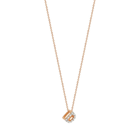 D Cubic Small Size Necklace