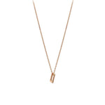 Cubic Small Size Necklace - Gold