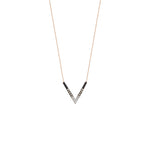 Single Chevron Layering Necklace