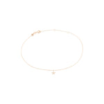 Sheriff Star Anklet - Gold