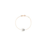 Triple Chevron Chain Bracelet 3 Colour