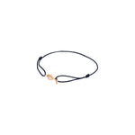 Evil Eye Cord Bracelet - White Diamond
