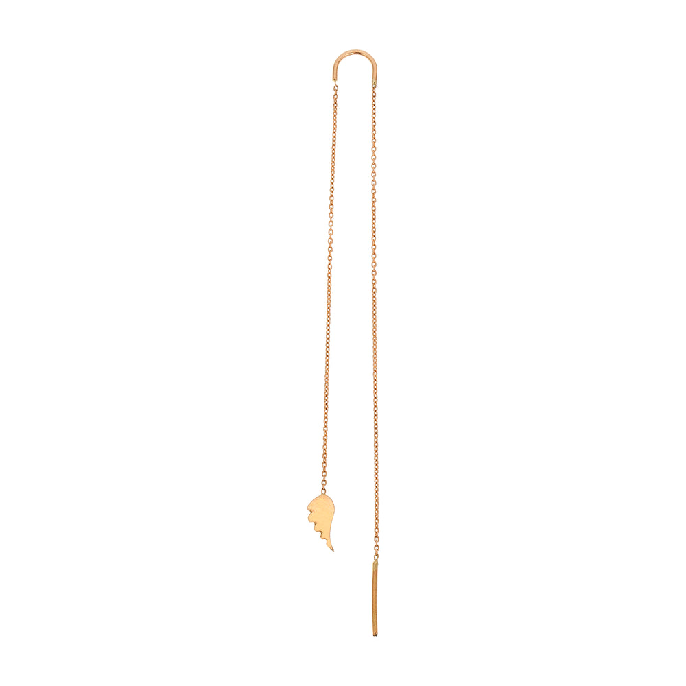 Bidik Wing Long Chain Earring (Single)