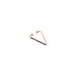 Triangle Cuff (Single) - Black Diamond