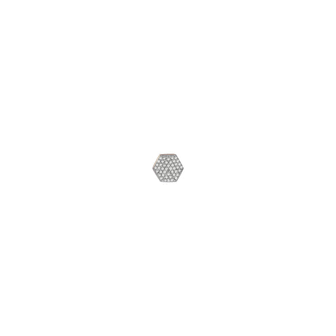 Hexagon Earring (Single)