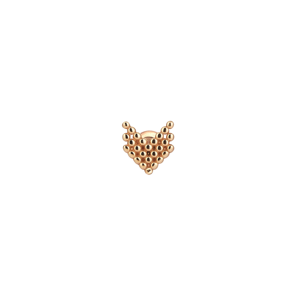 Triple Chevron Ball Stud (Single)
