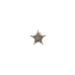 Sheriff Star Stud (Single) - Champagne Diamond