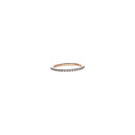 Spectrum Half Eternity Band - White Diamond