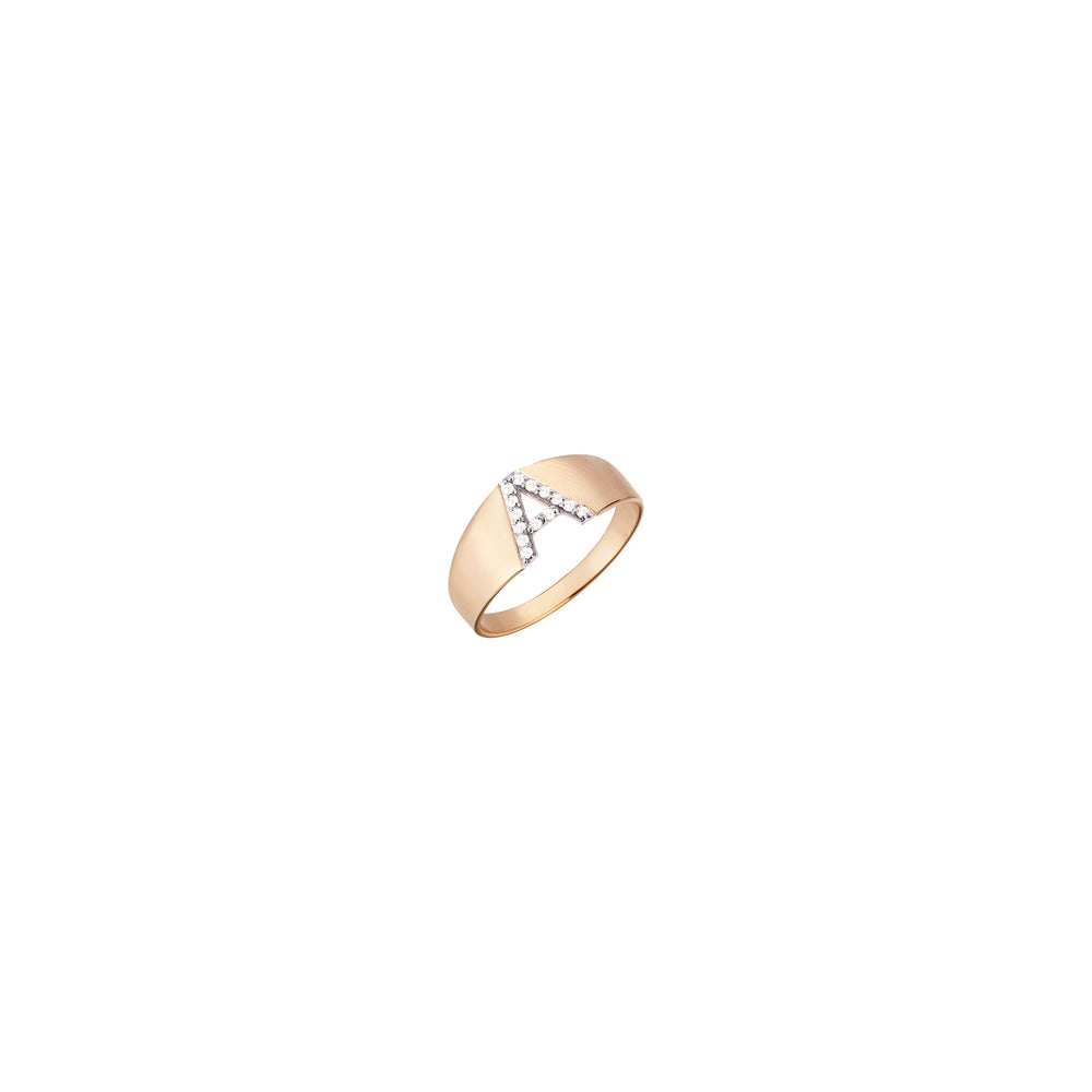 A Mini Ring - White Diamonds