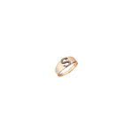 S Mini Ring - Champagne Diamond