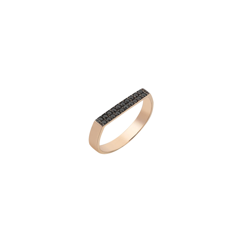 Flat Rectangle Thin Ring