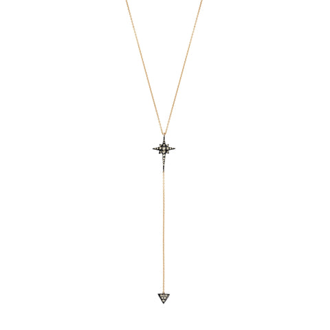 Kismet Star Lariat Necklace