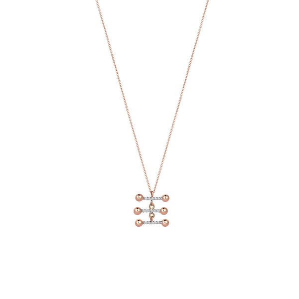 3 Parallel Bars Necklace