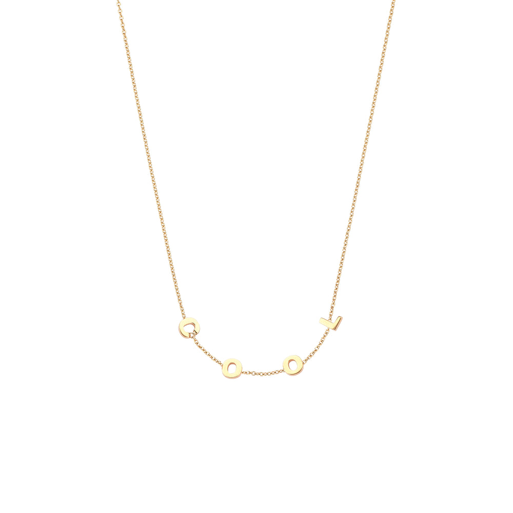 COOL Necklace - Gold