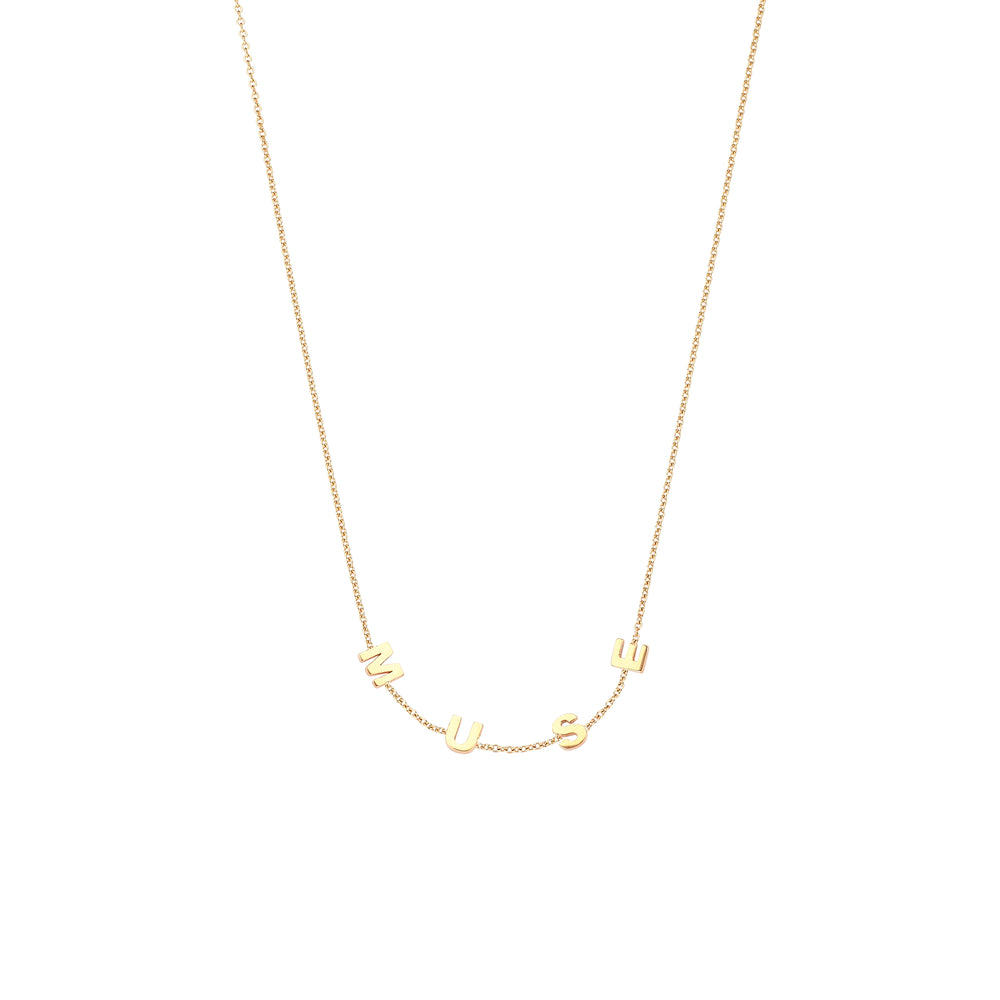MUSE Necklace - Gold