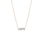 HOPE Necklace - White Diamond