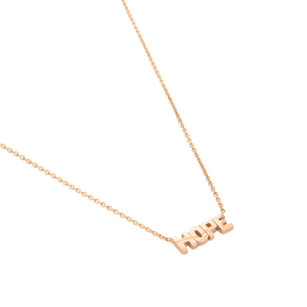 HOPE Necklace - Gold