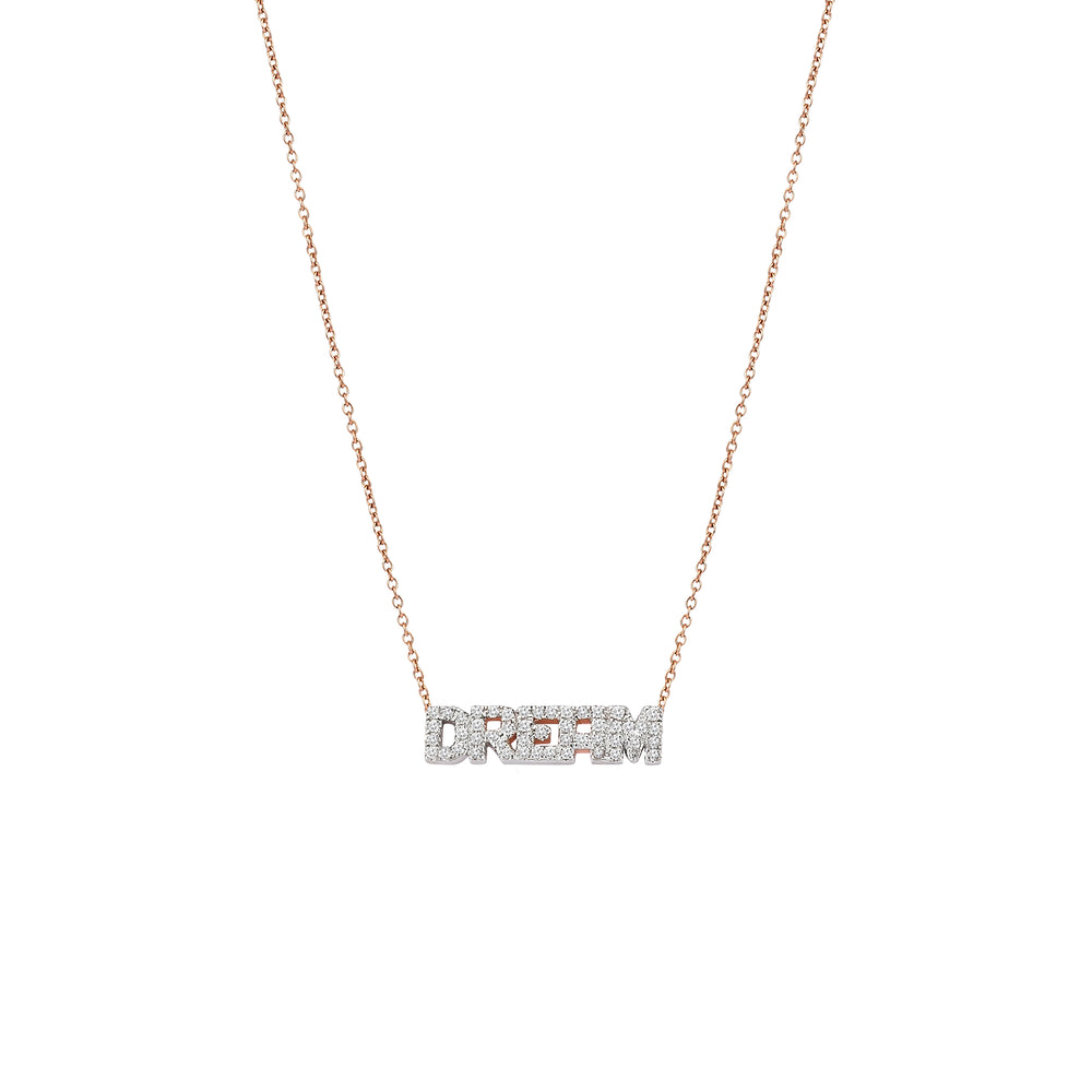 DREAM Necklace - White Diamond
