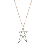 Struck Doodle Star Maxi Size Necklace