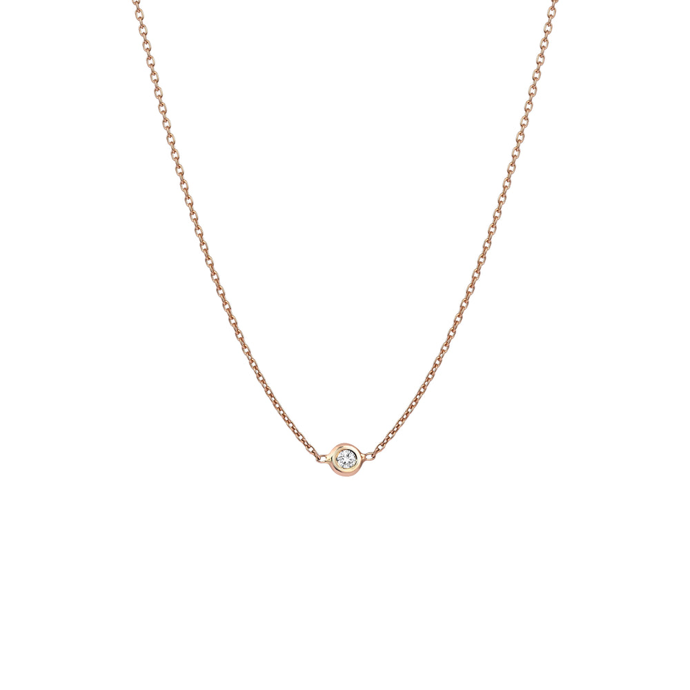 Solitaire Chain Choker