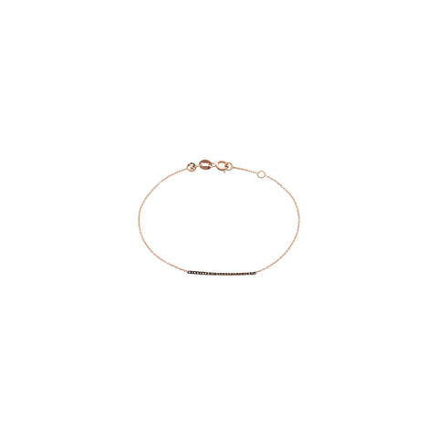 Lumiere Bar Bracelet With Chain