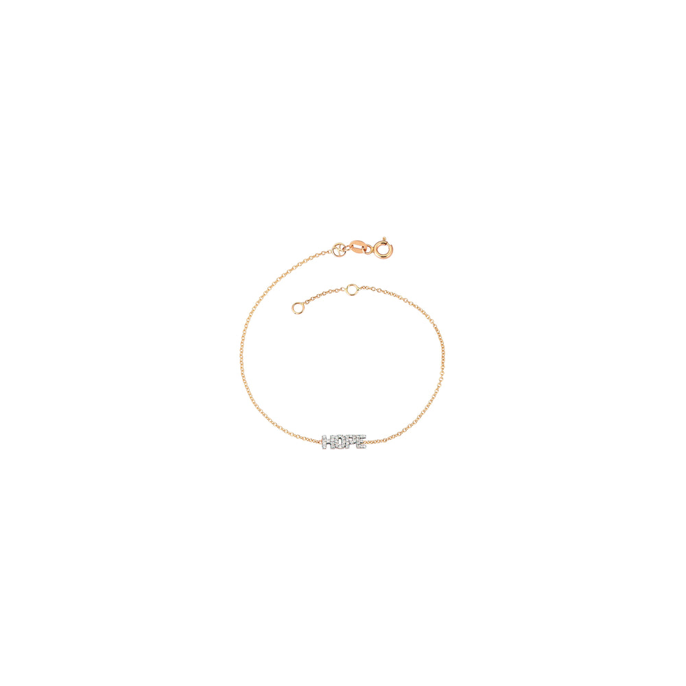 HOPE Bracelet - White Diamond