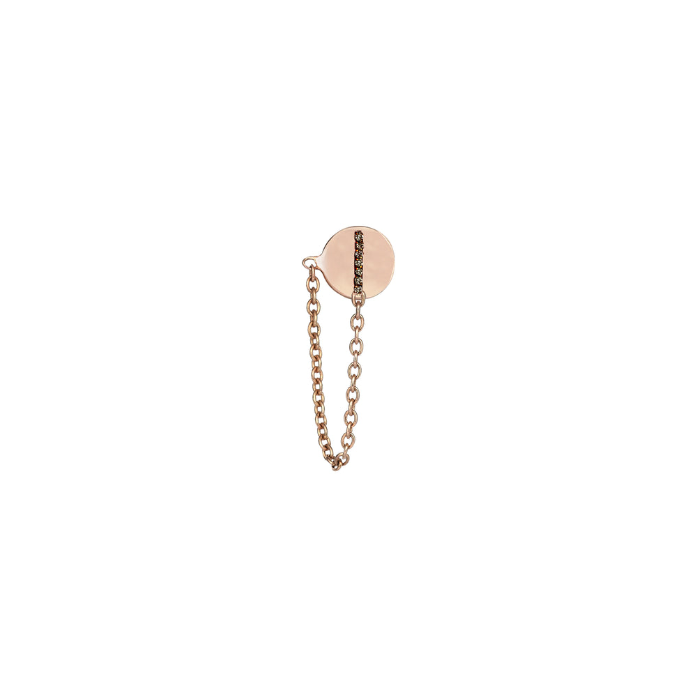 Lumiere Bar Chain Stud (Single)