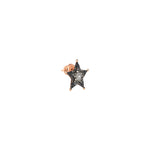 Sheriff Star Stud (Single) - Multi-Diamond