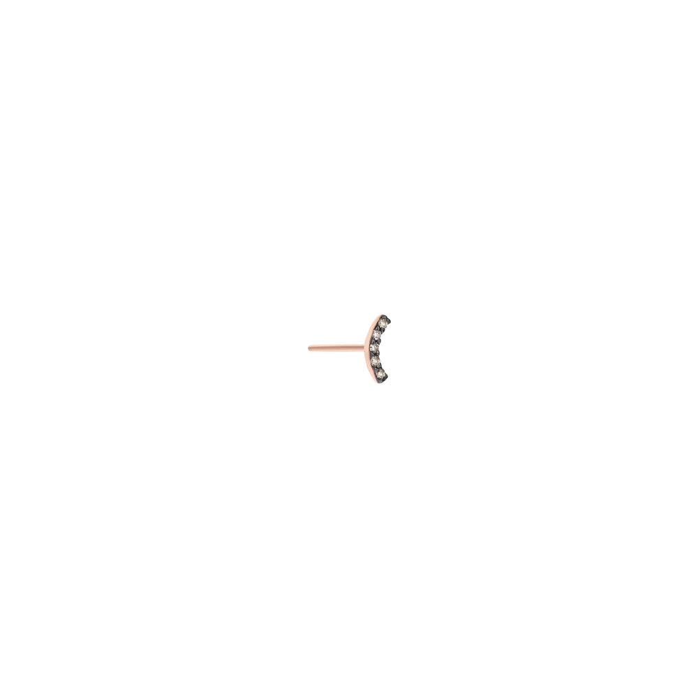 Arc Diamond Stud Small Size (Single)