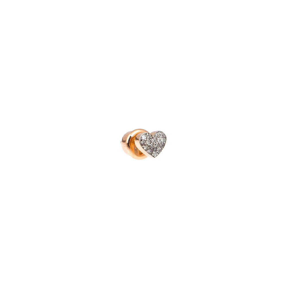 Bidik Heart Stud (Single)