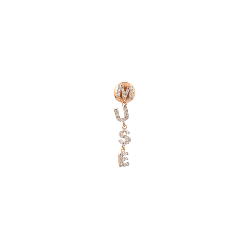MUSE Earring - White Diamond