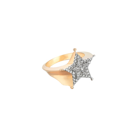 Sheriff Star Ring