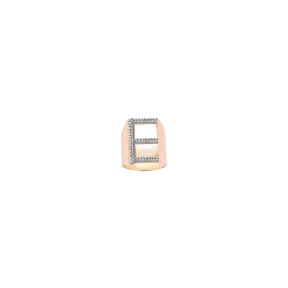 E Ring - White Diamond