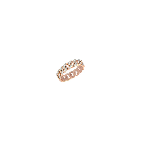 Retro Ring - White Diamond (0.30ct)