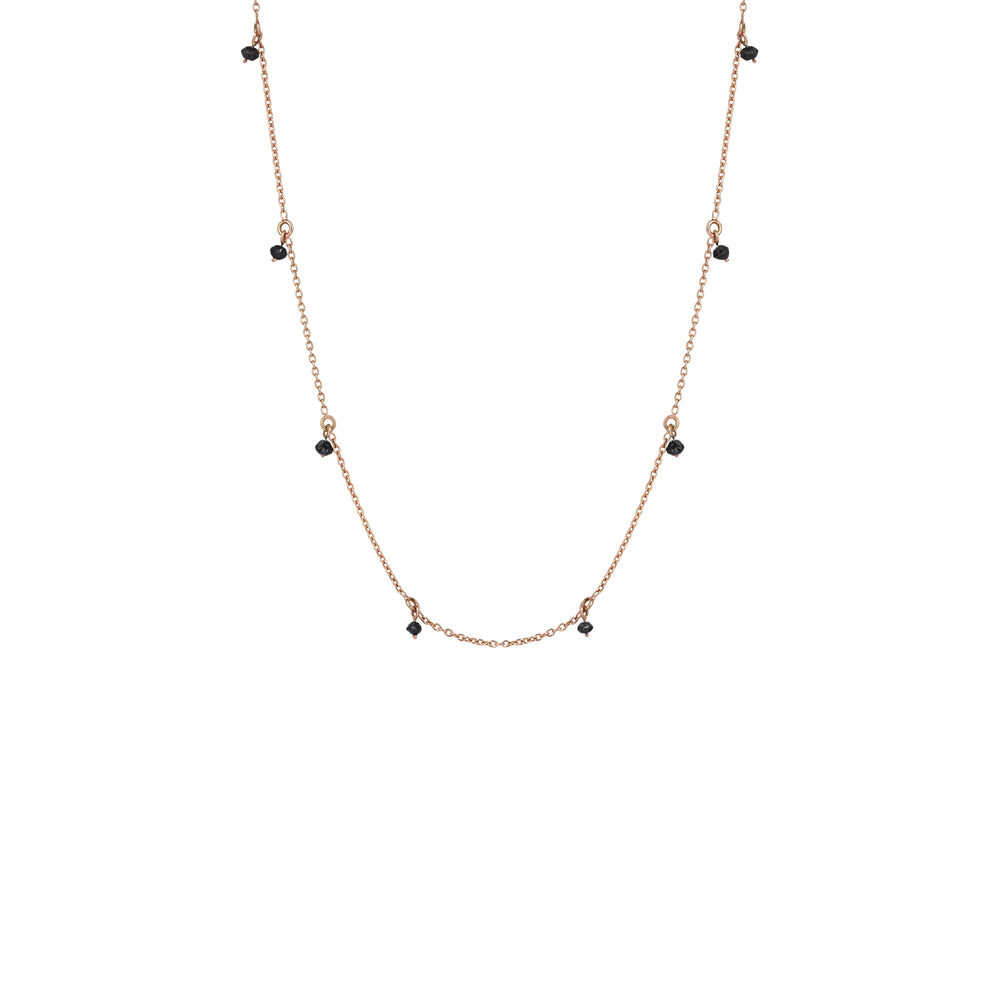 Chain Choker - White Diamond