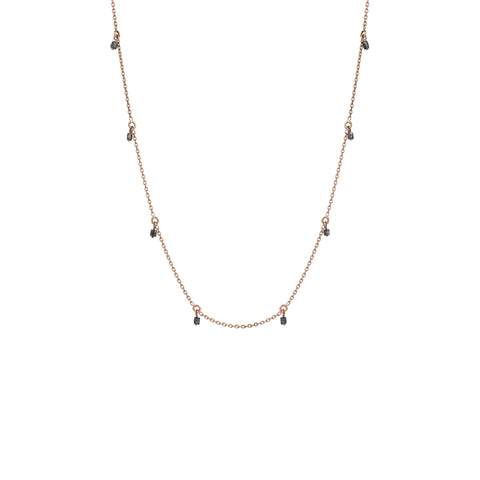 Chain Necklace - Grey Diamond