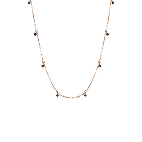 Black Diamond Necklace (45cm)