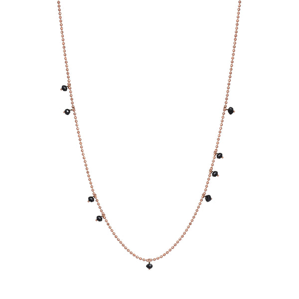 Lumiere Ball Chain Necklace (75 cm)