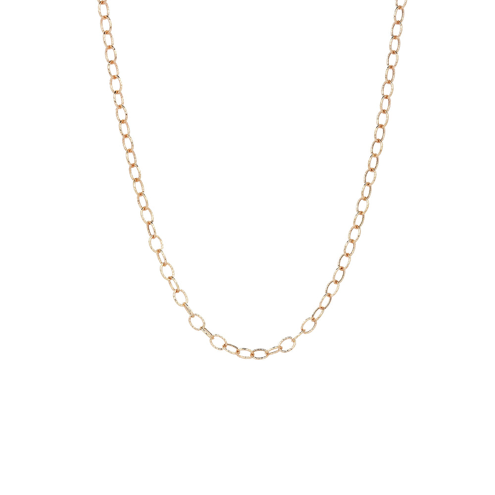 Circle Necklace Chain - Gold
