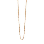 Square Necklace Chain - Gold