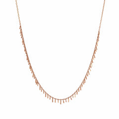 Bar Seed Necklace (45cm)